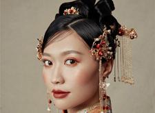 最新影楼资讯新闻-*考验技术的造型:中式新娘造型欣赏