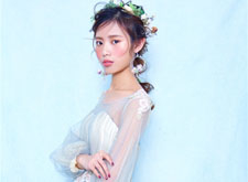 最新影楼资讯新闻-日系仙气新娘造型欣赏:童话里的公主