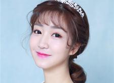 最新影楼资讯新闻-简约韩式优雅新娘造型欣赏