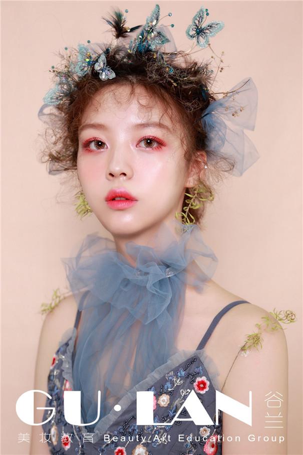 森系梦幻新娘造型:少女的梦