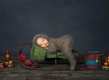 最新影楼资讯新闻-摄影师Noelle Mirabella拍摄的新生儿作品