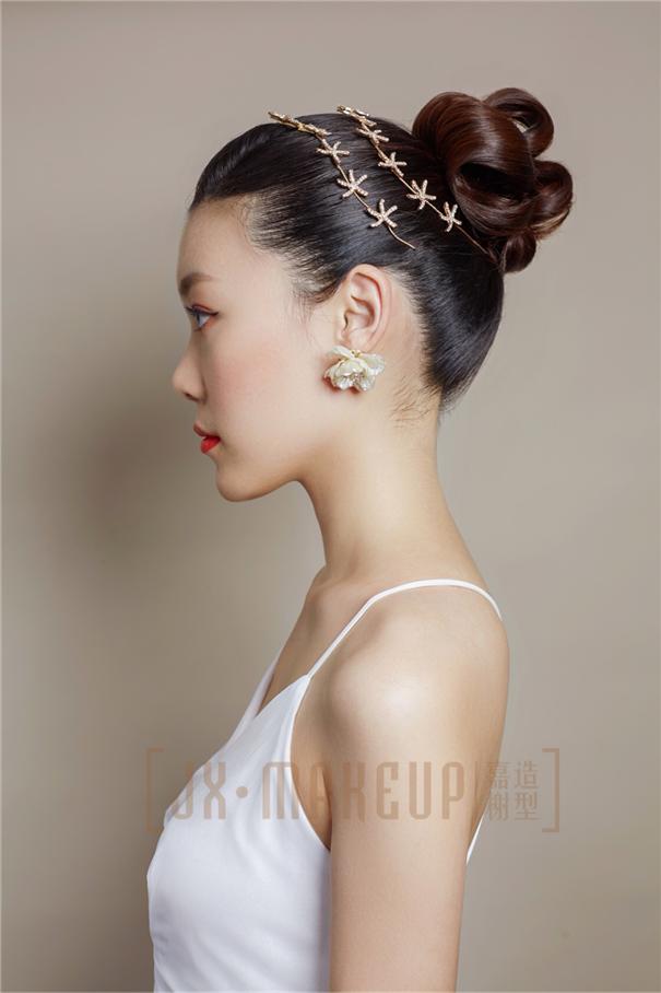 复古优雅的上海新娘