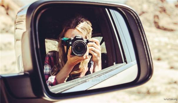 拍创意人像?有镜子就够了!