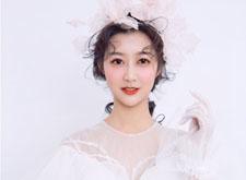 最新影楼资讯新闻-充满仙气风格的杂志封面新娘造型,唯美飘逸