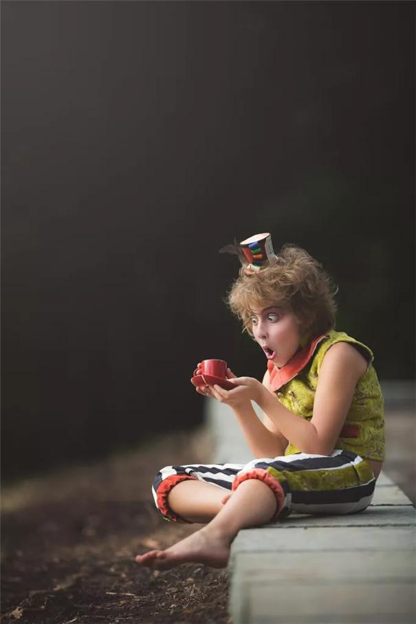 儿童摄影之爱丽丝镜中奇遇