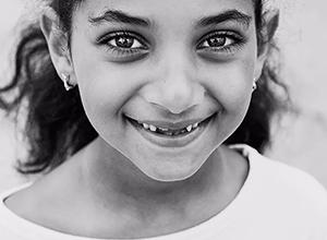最新影楼资讯新闻-黑白儿童肖像,纯粹个性尽显。