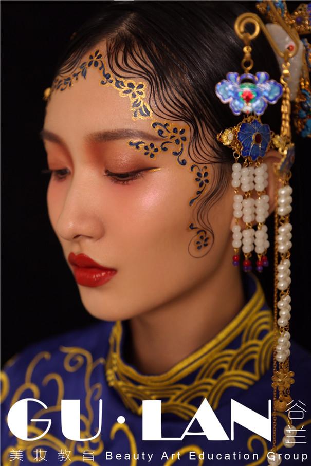 黑光人才网_彩绘与彩妆的完美结合_妆面赏析_影楼化妆_黑光网