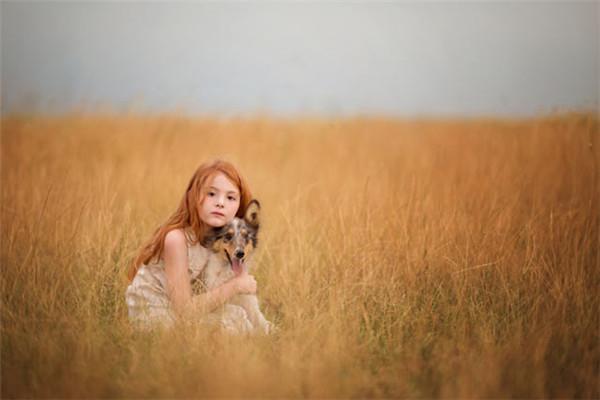 儿童人像摄影欣赏:简单与纯美