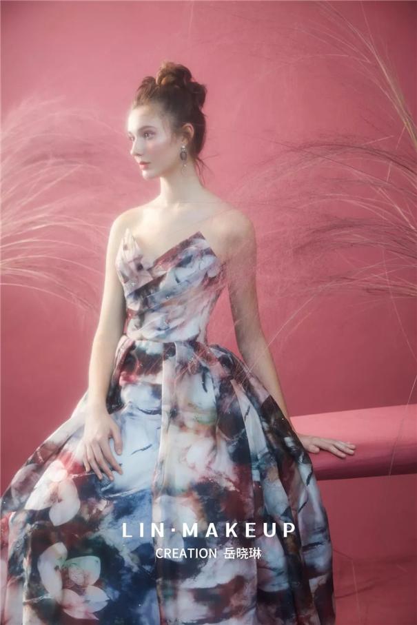 清新自然,甜心新娘风格造型的创作手法