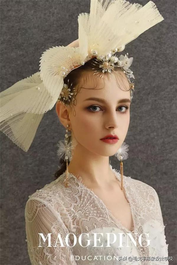 冷艳轻复古新娘造型,演绎***优雅