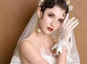 最新影楼资讯新闻-冷艳轻复古新娘造型,演绎***优雅
