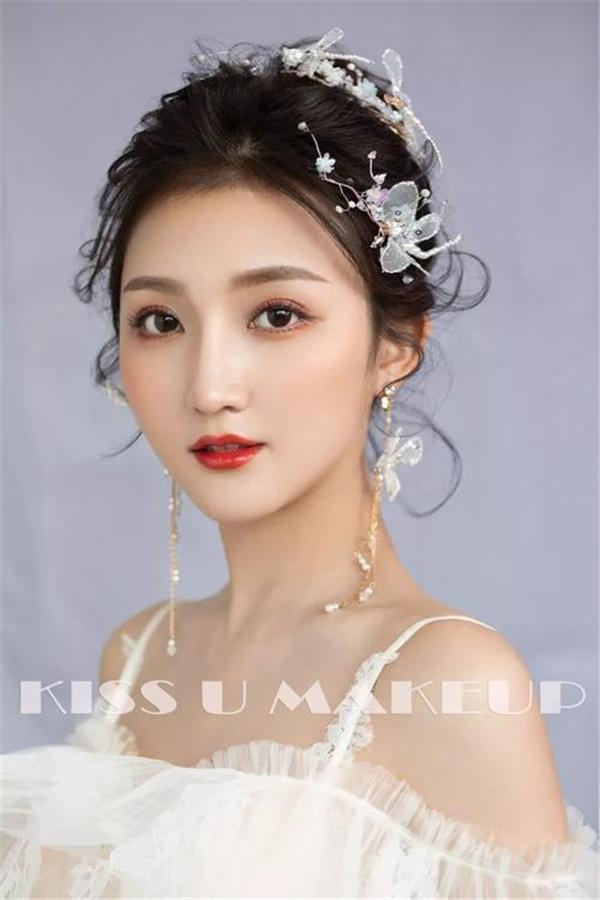 靈動美麗的鮮花系新娘 浪漫嬌羞