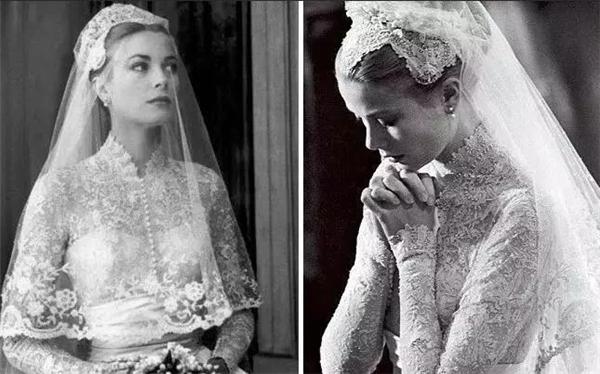 分歧种类头纱的满分高级感仪式造型