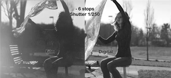 胶片和数码的宽容度差距究竟有多大?