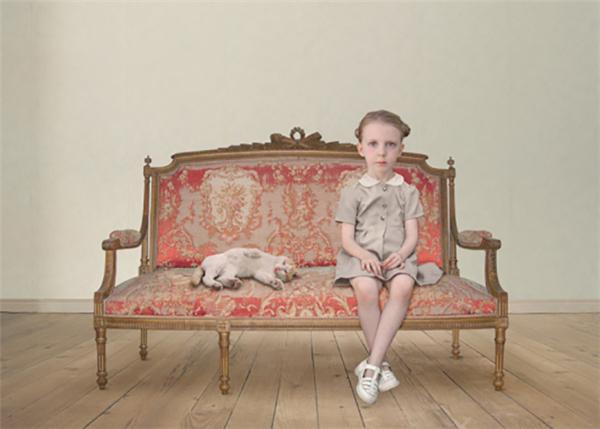 Loretta Lux:孩子们的超现实复古肖像