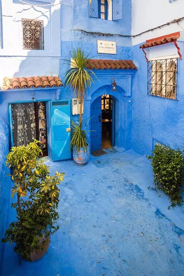 摩洛哥 童话一般的蓝色世界