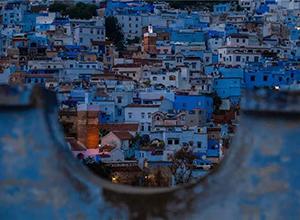 最新影楼资讯新闻-摩洛哥 童话一般的蓝色世界