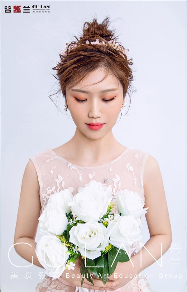夢幻粉調 少女心晚禮新娘