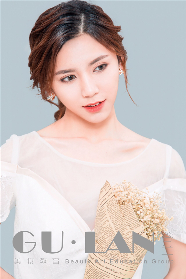 清新柔美的簡約韓式新娘
