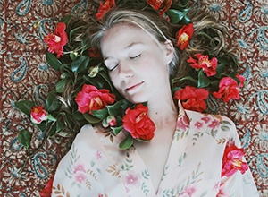 最新影樓資訊新聞-唯美人像攝影 沉睡在夢境之中