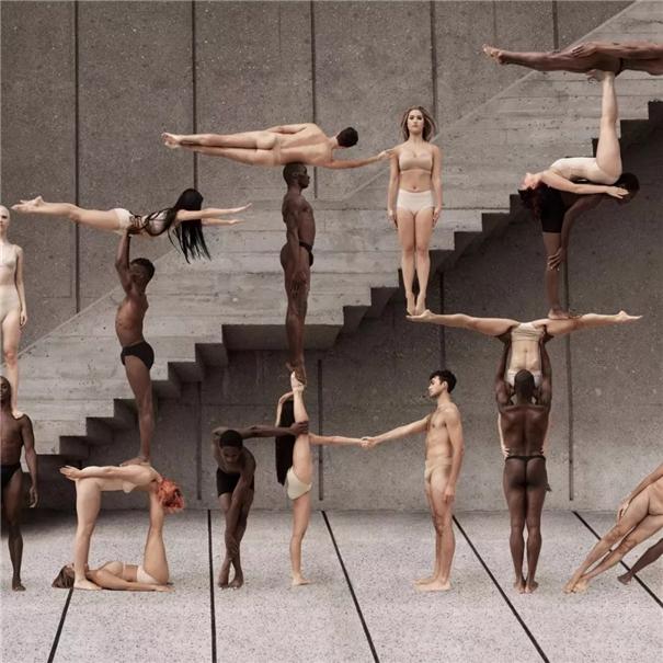美國時尚攝影師與舞蹈演員合作 創造出震撼畫面!