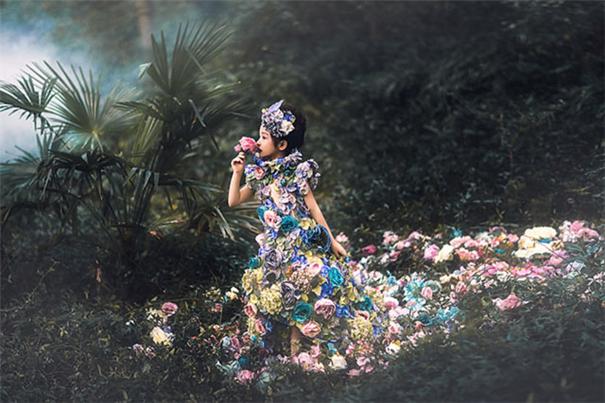 梦幻而神秘 ,废墟之上花神的诞生