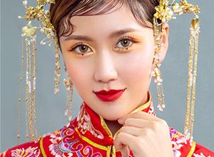 最新影樓資訊新聞-雍容華貴 龍鳳褂中式新娘