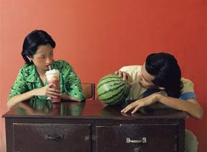 喜茶 × 吃瓜群众:多肉瓜瓜广告宣传照