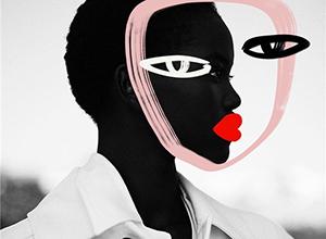 抽象繪畫碰撞時尚大片 更具創意的視覺表達