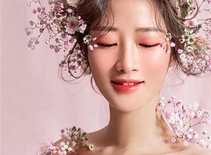 明媚活泼粉色系花仙子造型