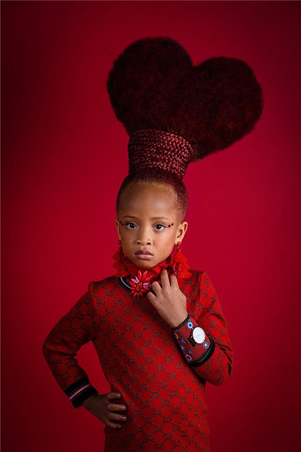 捕捉黑人模特之美 黑人模特的独特发型