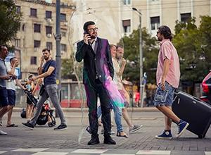 最新影楼澳门赌厅网址消息-创意 : 泡泡中的你,泡泡中的我