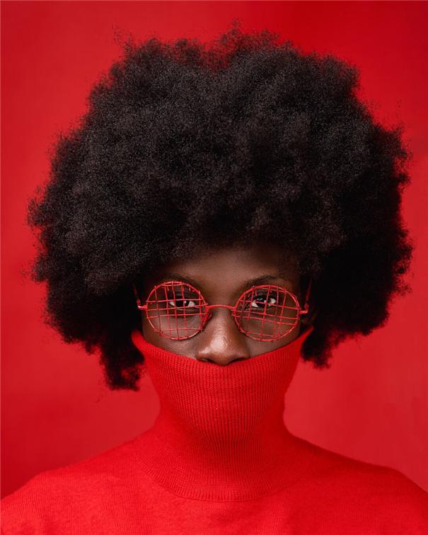热情浓郁的视觉 红色主题人像灵感画面