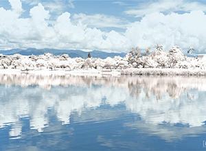 最新影樓資訊新聞-通過PS把湖泊景觀調成唯美的雪景效果