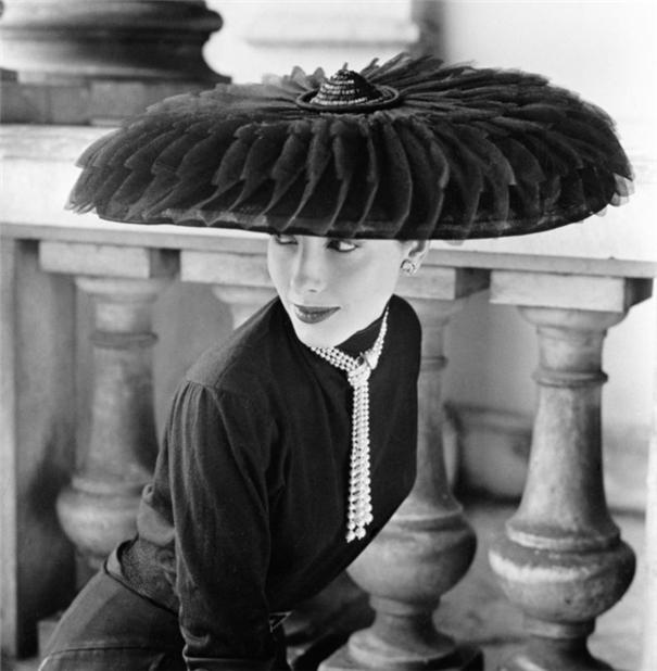 50年代典雅时尚大片 开创超模时代的诺曼·帕金森