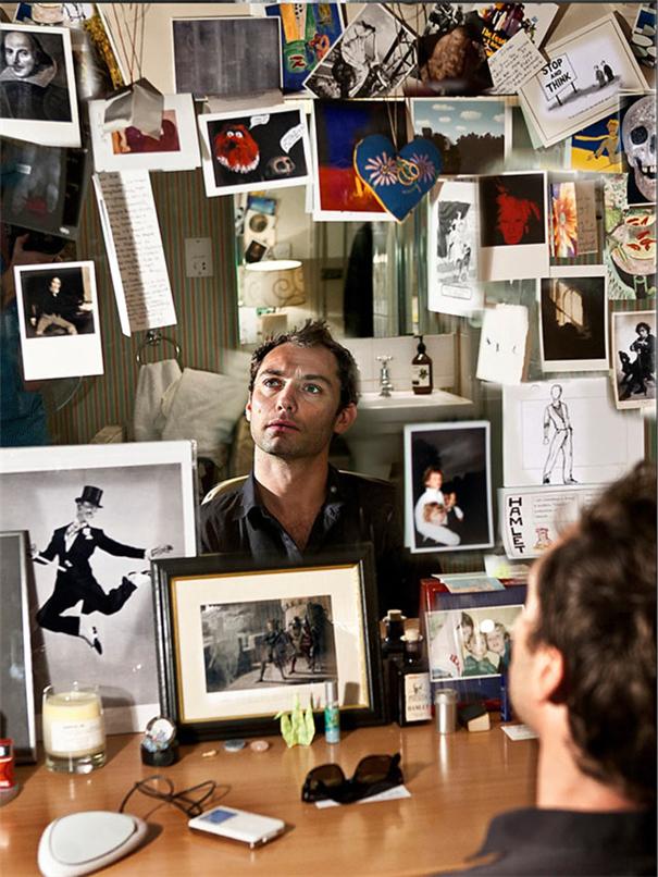 环境肖像:幕布背后 卸下光环的演员们