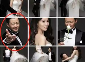 最新影楼资讯新闻-你看吴京,他把结婚照都用在了什么地方!