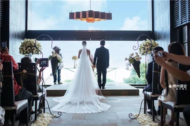 目的地婚礼:欧美25%新人选择、日本超过60%,中国……