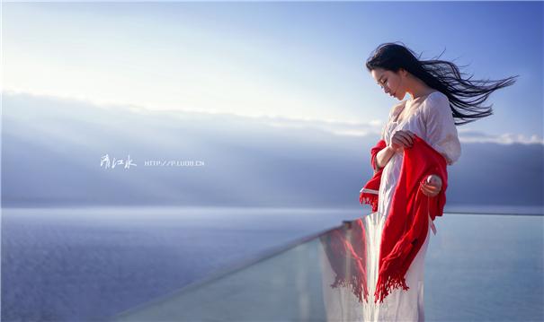 外景人像:你是藏在海风里的诗
