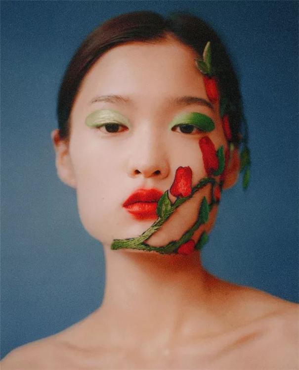 原来花还能这样拍,南韩最会用花创作的摄影师