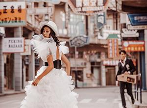 最新影楼资讯新闻-街拍婚纱照可以选择哪些场景?