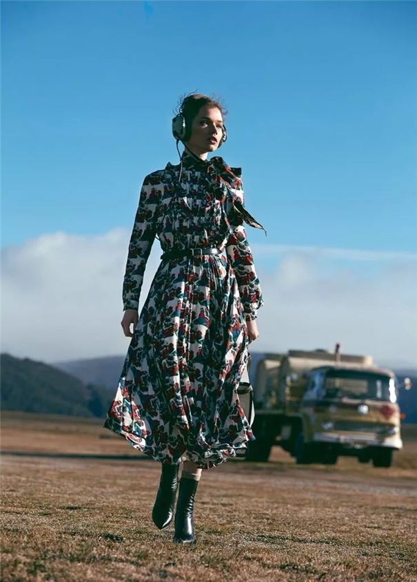 时尚甄选 : 道具和大片气场的相关性