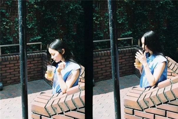 事实证明!喜欢喝奶茶的女生,都很会拍照