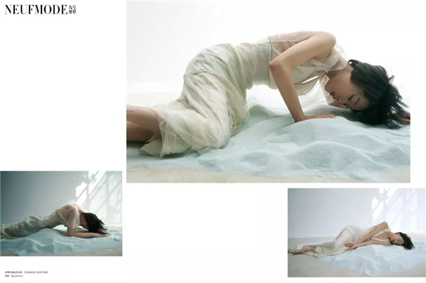 《NeufMode九号摩登》× 周冬雨 干净纯粹杂志片