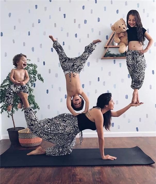 作品欣赏:Vanessa Rivera异想天开的家庭照片
