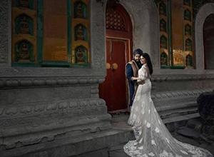 离机闪光灯创意布光示范,婚礼千赢国际娱乐还能这样拍