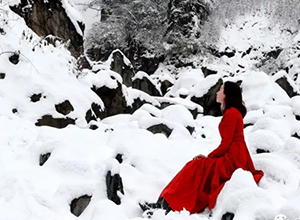 最新影楼资讯新闻-初雪来临,雪景人像怎么拍才好看?