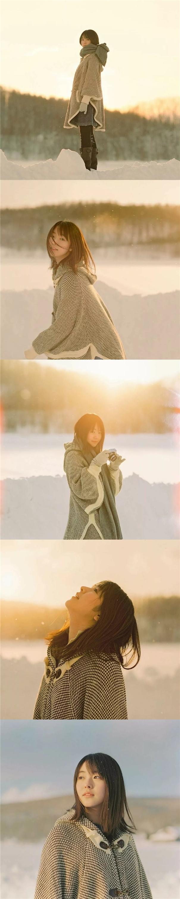 冬日物語:濱田英明鏡頭下的唐田英里佳