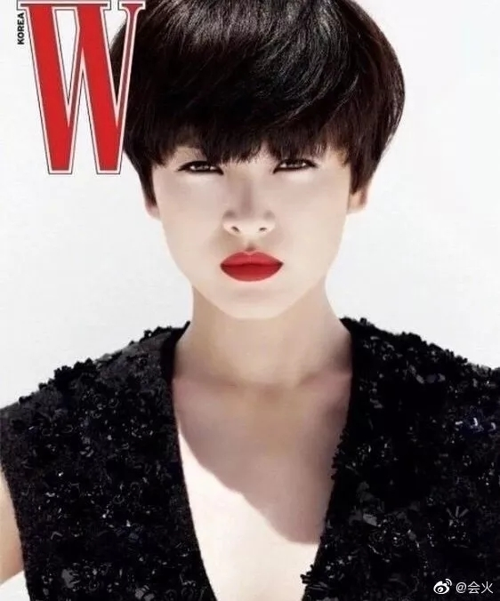 為什么都說宋慧喬不適合紅唇?