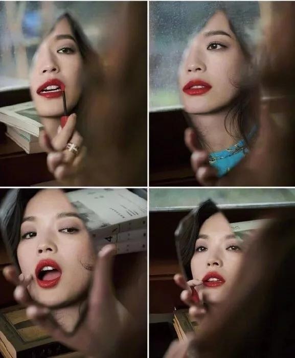 为什么都说宋慧乔不适合红唇?